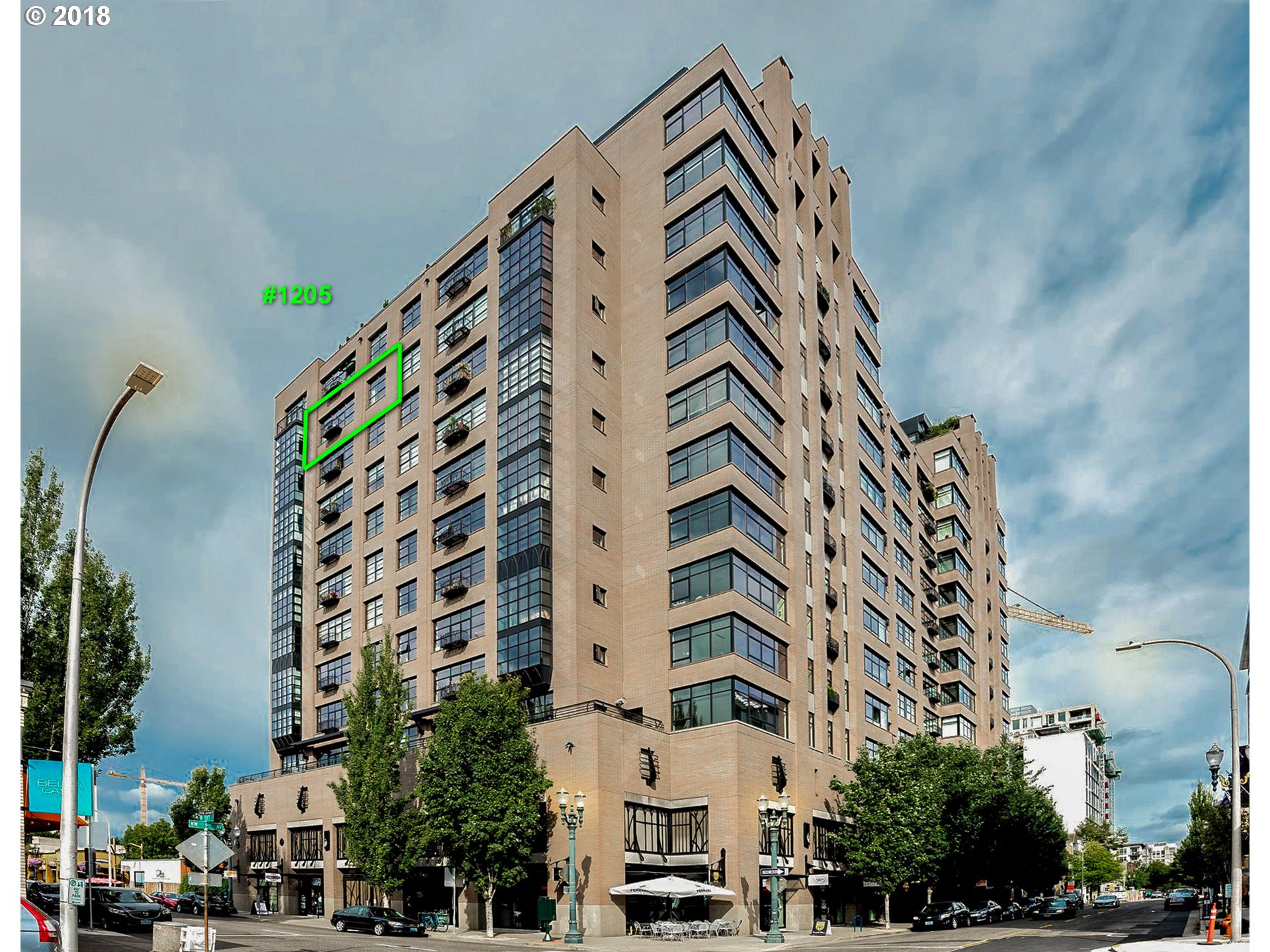 333 NW 9TH AVE Unit 1205 Portland, OR 97209 - MLS #: 18660677