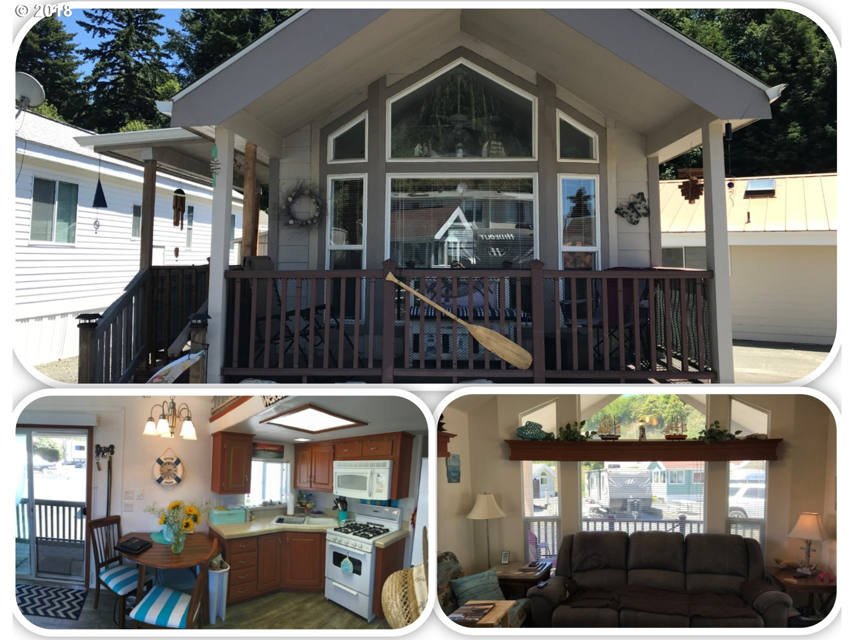 Brookings, OR 1 Bedroom Home For Sale