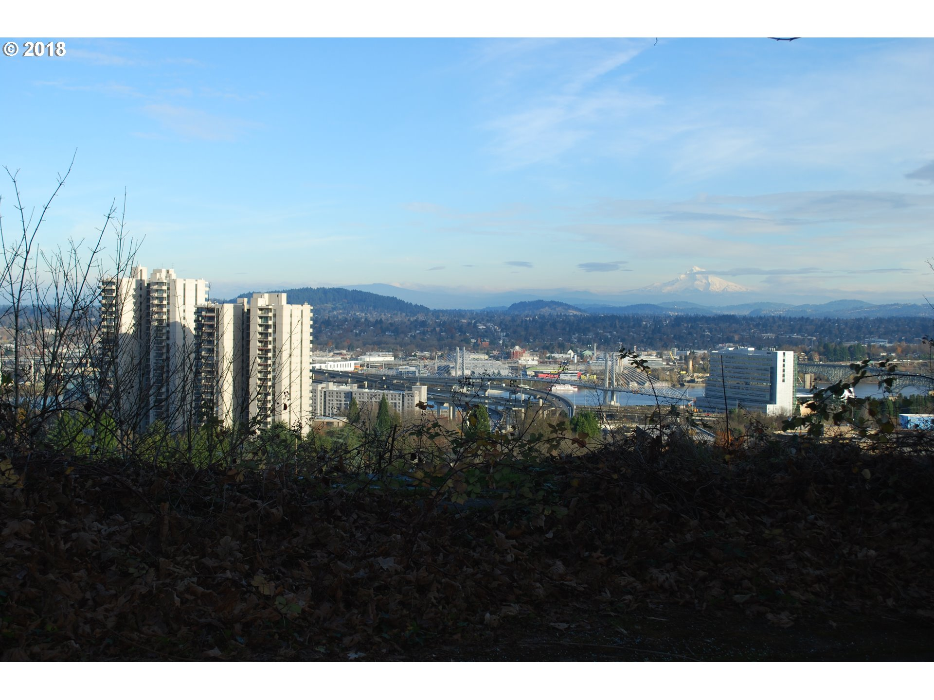 Developers/builders. Fantastic opportunity close in with breathaking views of Mt. Hood and city. Proximity to PSU, OHSU, UnderAmour, and downtown with easy highway access. Schematics for 4 townhouses or one main custom residence. Buyers to do due diligence, call broker for development packet.