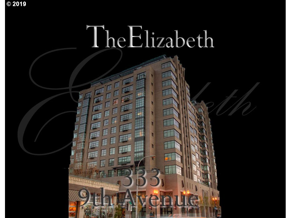 This beautiful penthouse loft at The Elizabeth is sure to exceed all expectations! Live in the bay area or New York and looking for the perfect Pied-a-terre? You have found it. Featuring 1,652 sq. ft. of open living space this penthouse also features an amazing 50' long terrace that takes advantage of the views of the city lights at night and beautiful Mt. Hood during the day.Stylish upgraded kitchen, spa like bath w/steam shwr.Must see