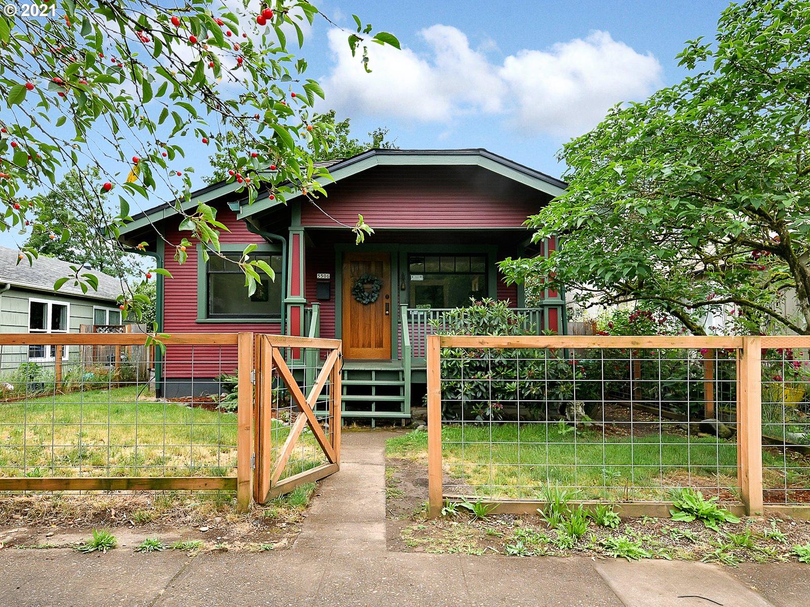 5506 SE RAMONA ST, Portland OR 97206