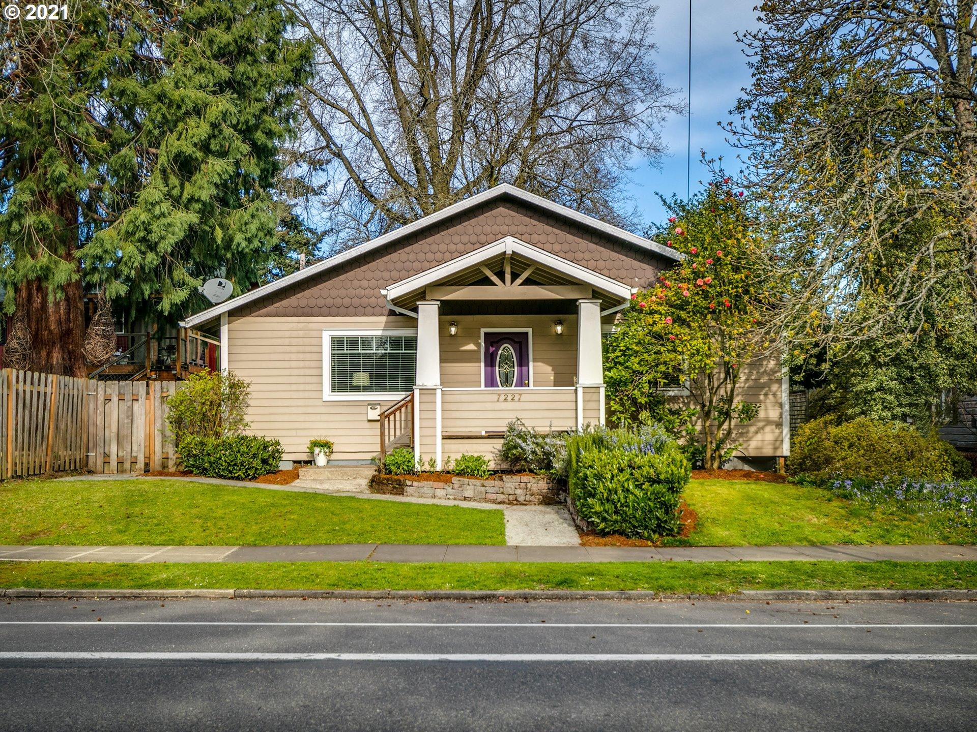 7227 N PORTSMOUTH AVE, Portland OR 97203