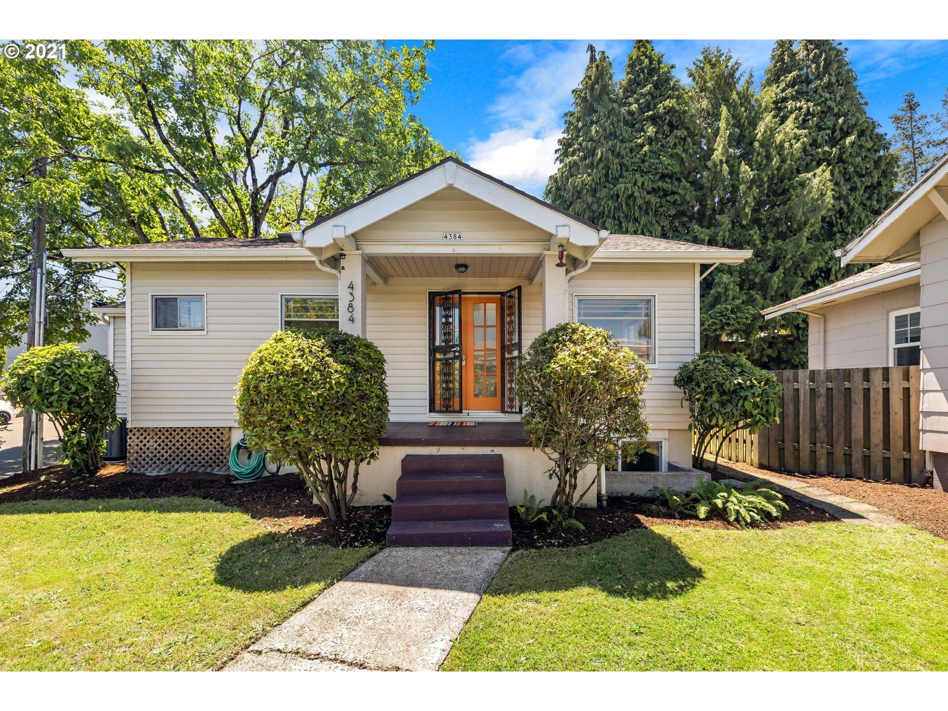 4384 NE SENATE ST, Portland OR 97213