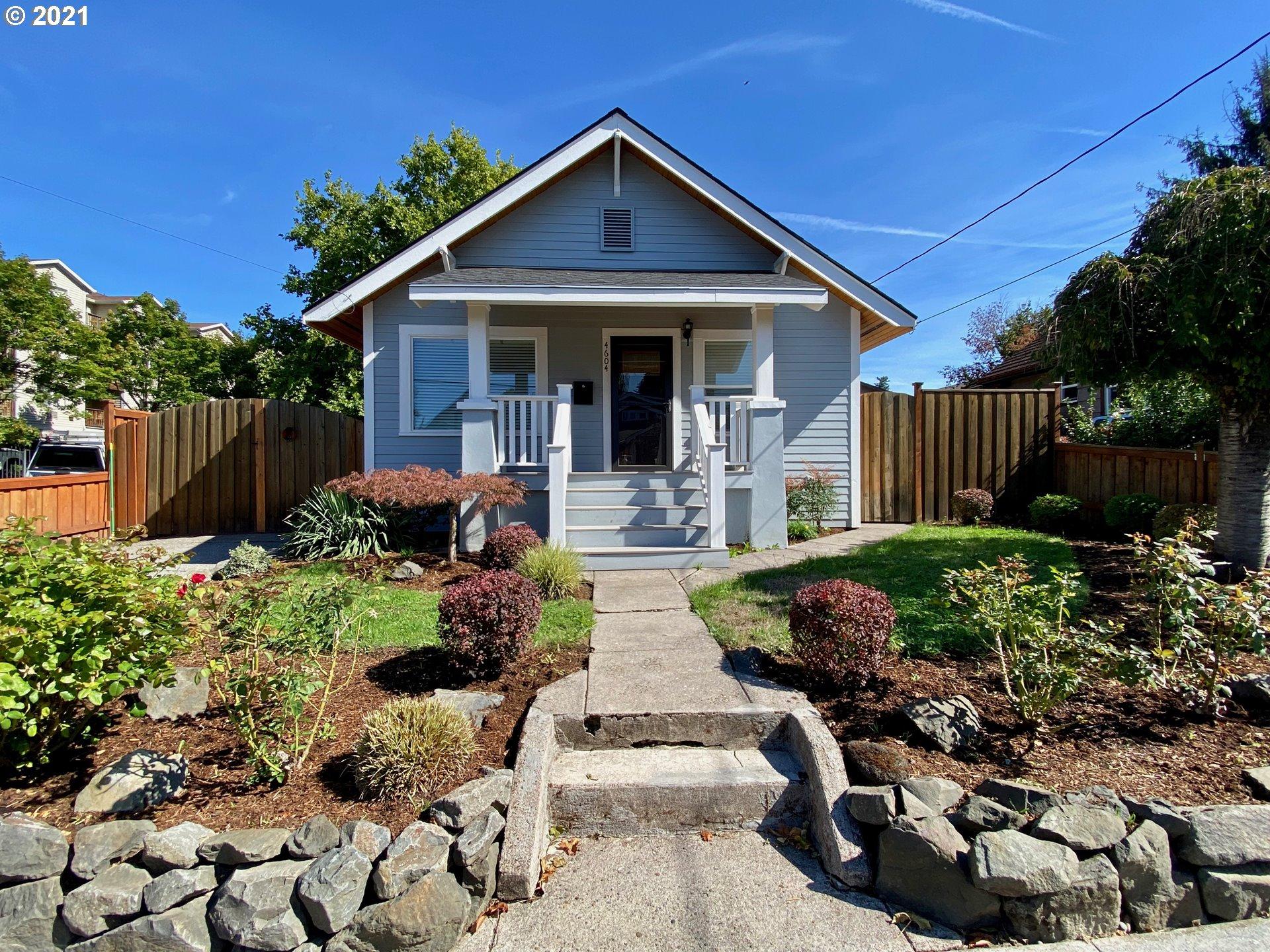 4604 SE 30TH AVE, Portland OR 97202