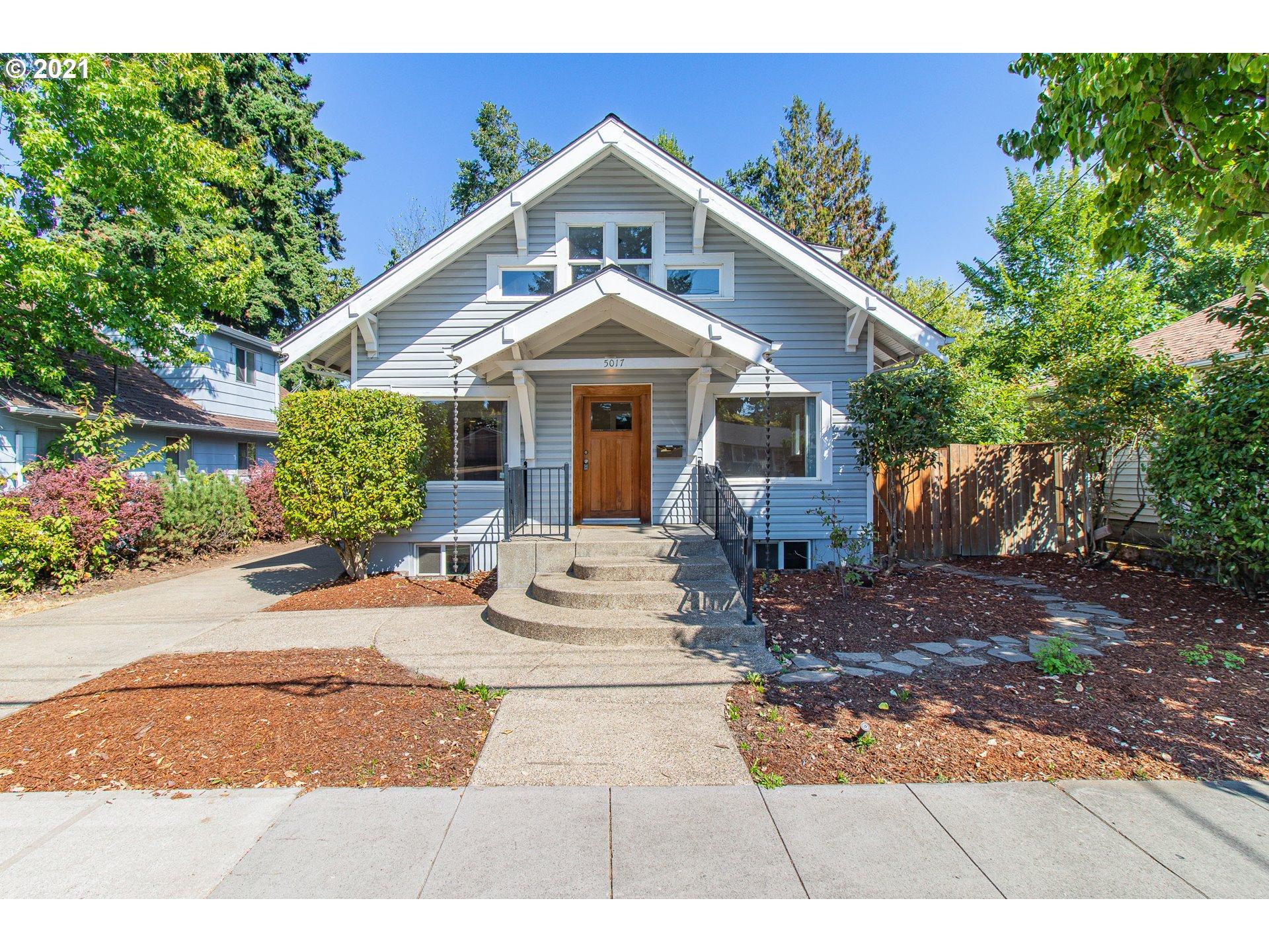 5017 SE WOODSTOCK BLVD, Portland OR 97206